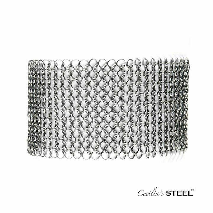 Steel Lace Choker   Bracelet   Trada Marketplace