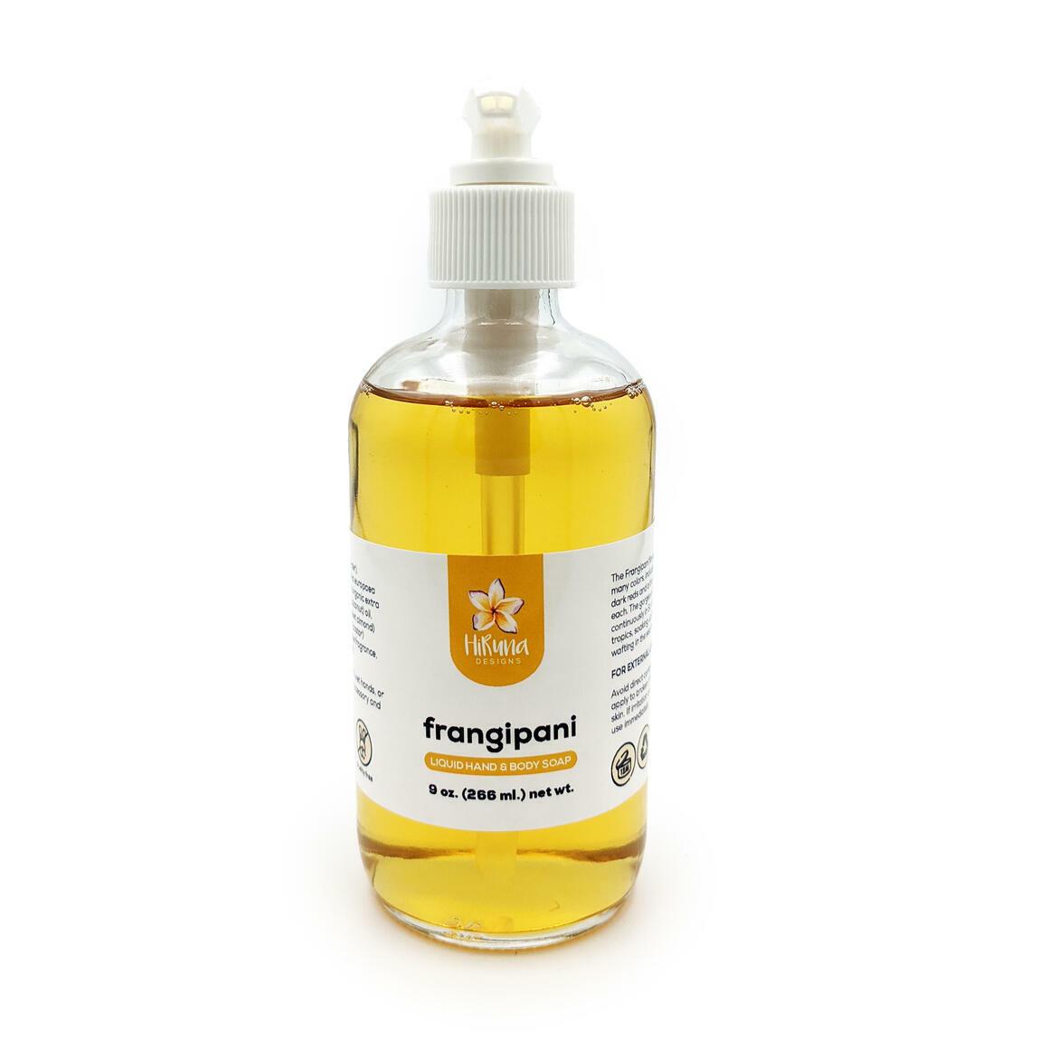 Frangipani - Liquid Hand & Body Soap | Trada Marketplace