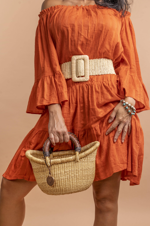 Lemloreli - Wide Straw Belt | Trada Marketplace