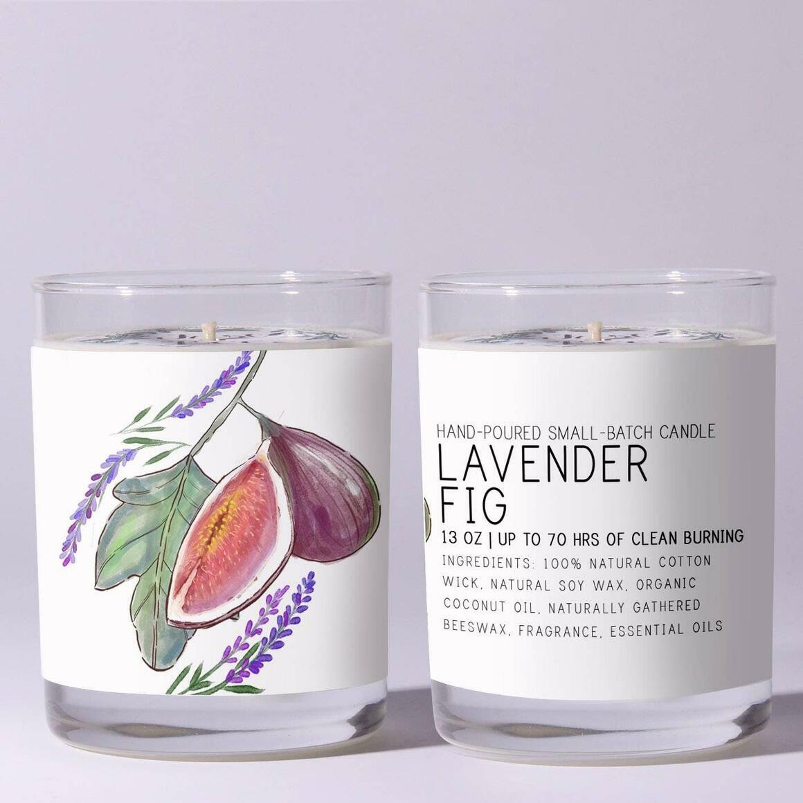 Lavender Fig - Just Bee Candles | Trada Marketplace
