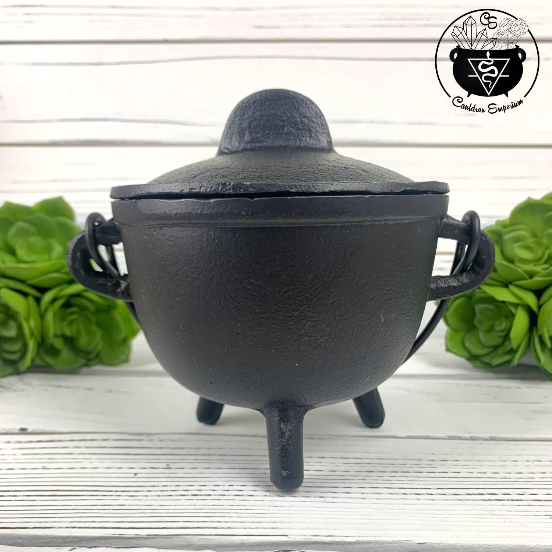 "Cauldron - Incense Burner 4.5""D | Trada Marketplace"