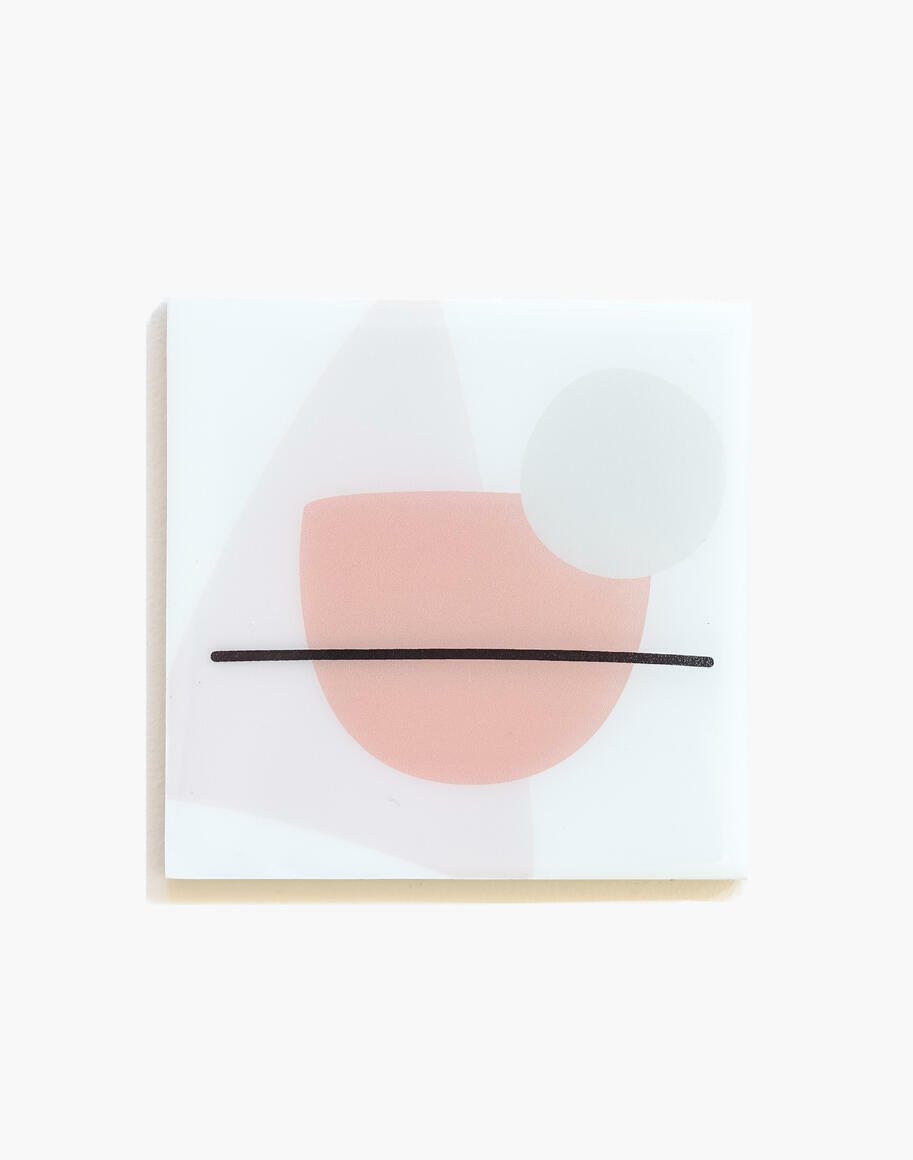 Abstract Pink set of 4 coasters   Trada Marketplace