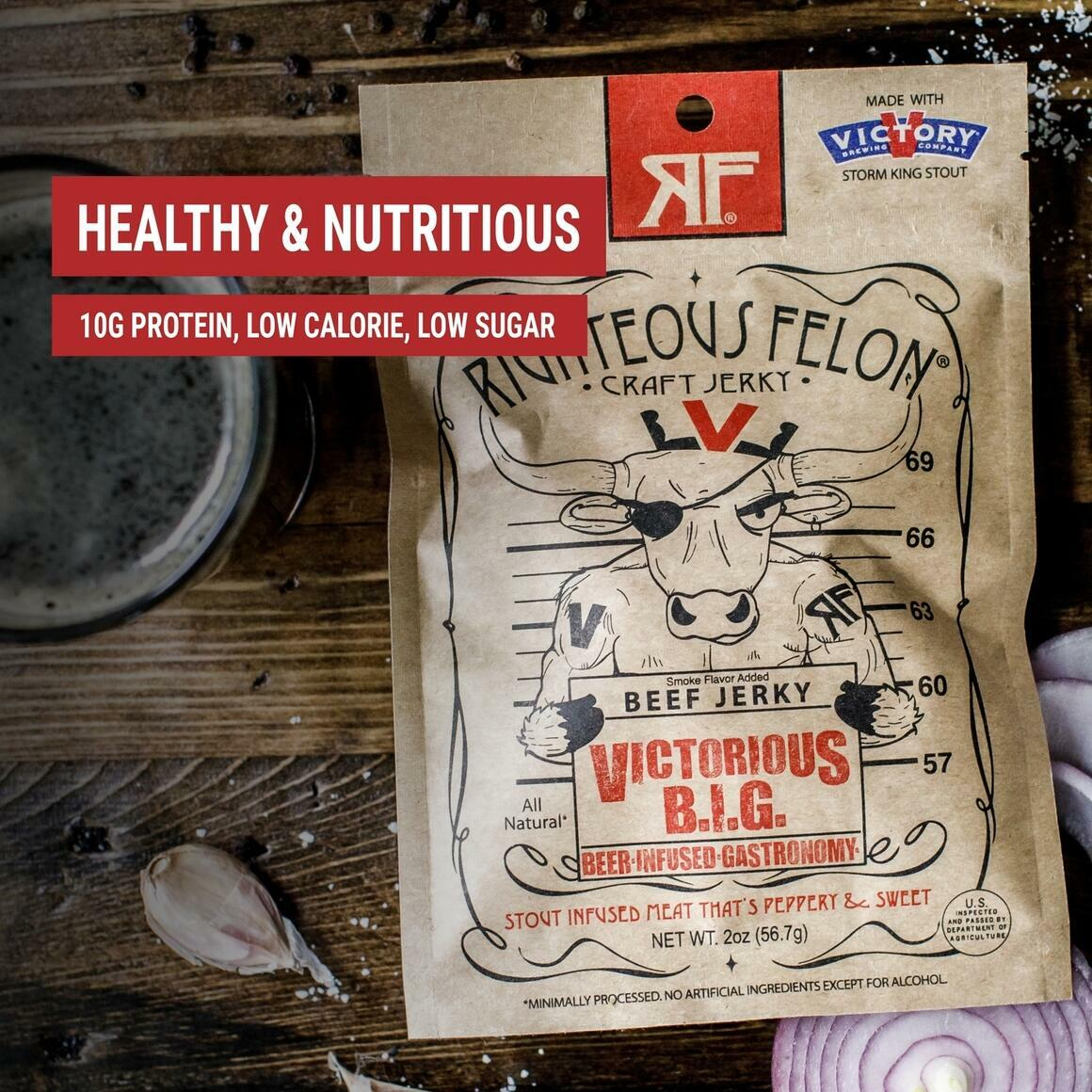 Victorious B.I.G. Beef Jerky | Trada Marketplace