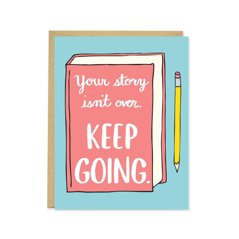 Keep Going Card | Trada Marketplace