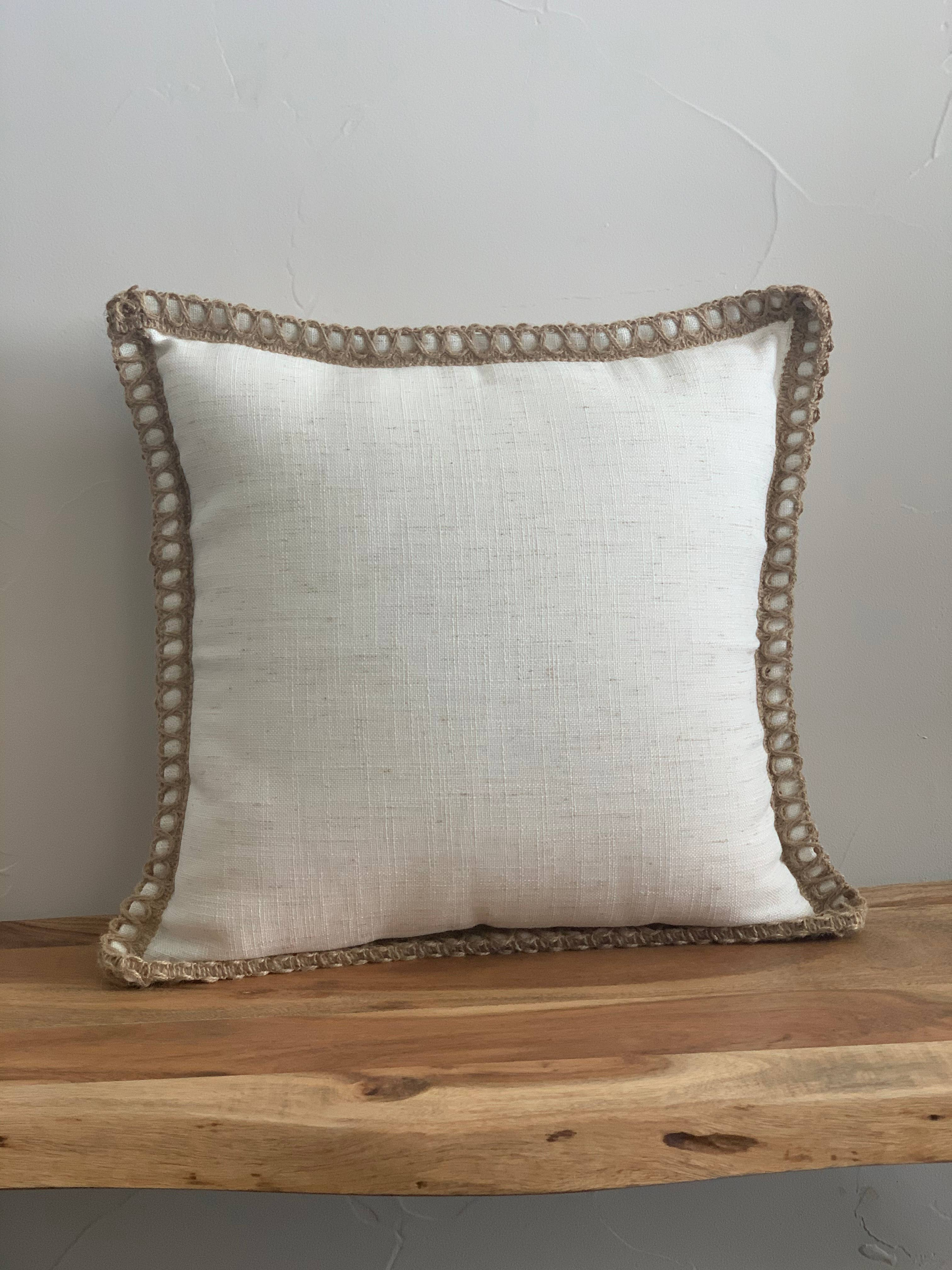 Throw pillow cover 18x18 in   Trada Marketplace