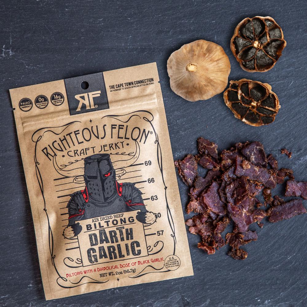 Darth Garlic Biltong 2oz | Trada Marketplace
