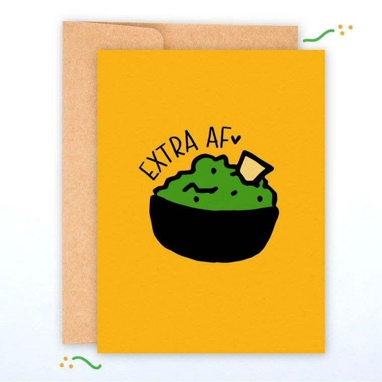 Extra AF A2 Greeting Card with Envelope | Trada Marketplace