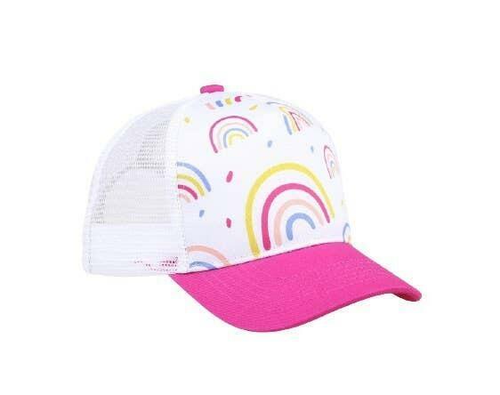 Rainbow Trucker Hat | Trada Marketplace