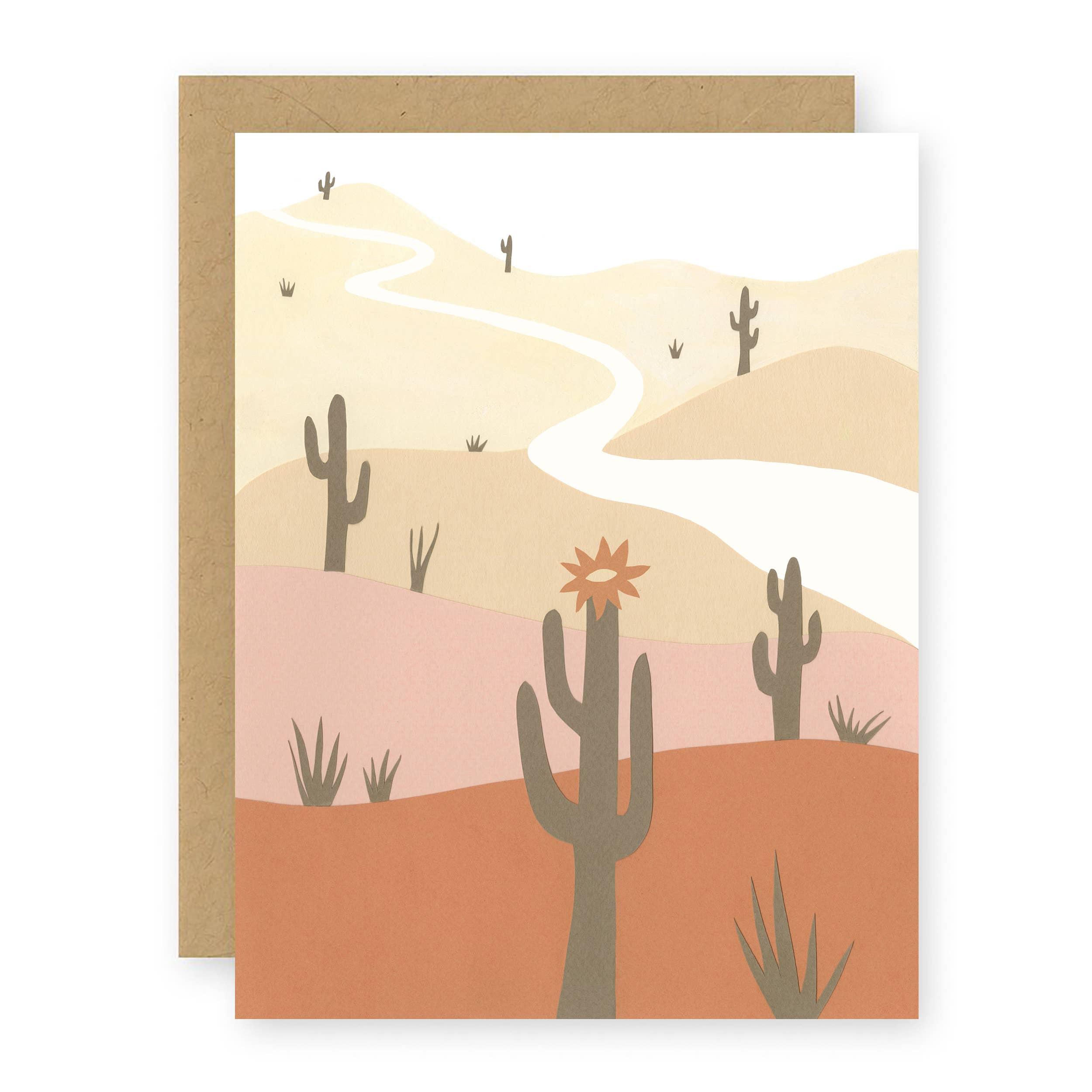 Saguaro Notecard   Trada Marketplace