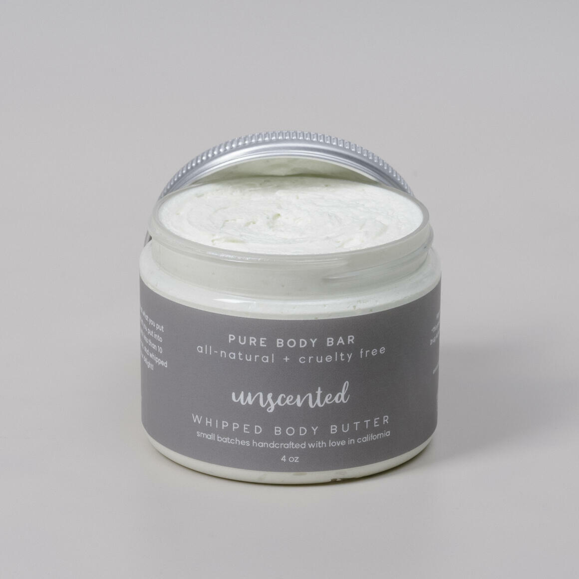 Unscented Whipped Body Butter   Trada Marketplace