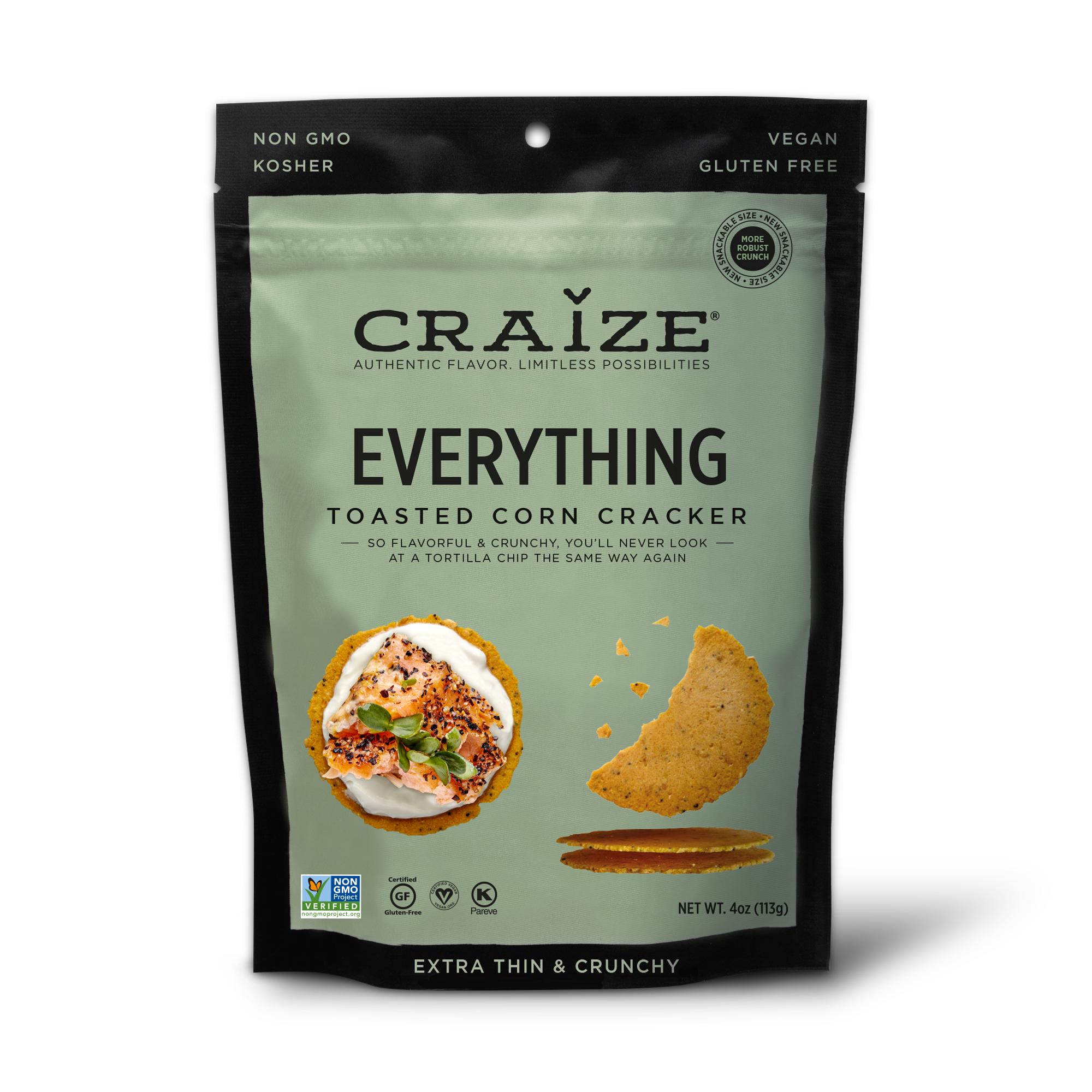Everything Toasted Corn Crackers 4oz | Trada Marketplace
