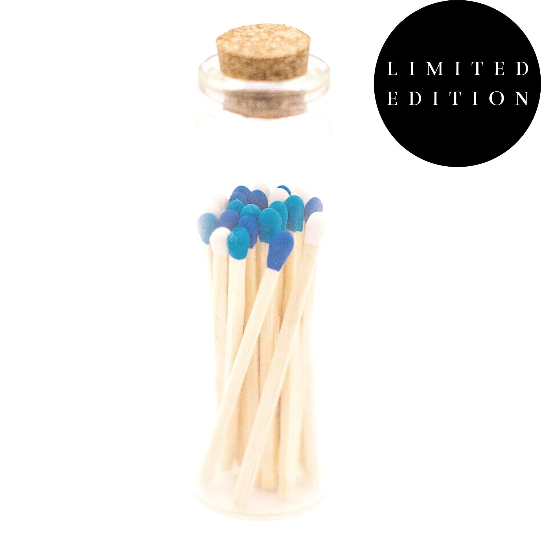 1.85in Sky Match Blend -  Decorative Matches In Jar   Trada Marketplace