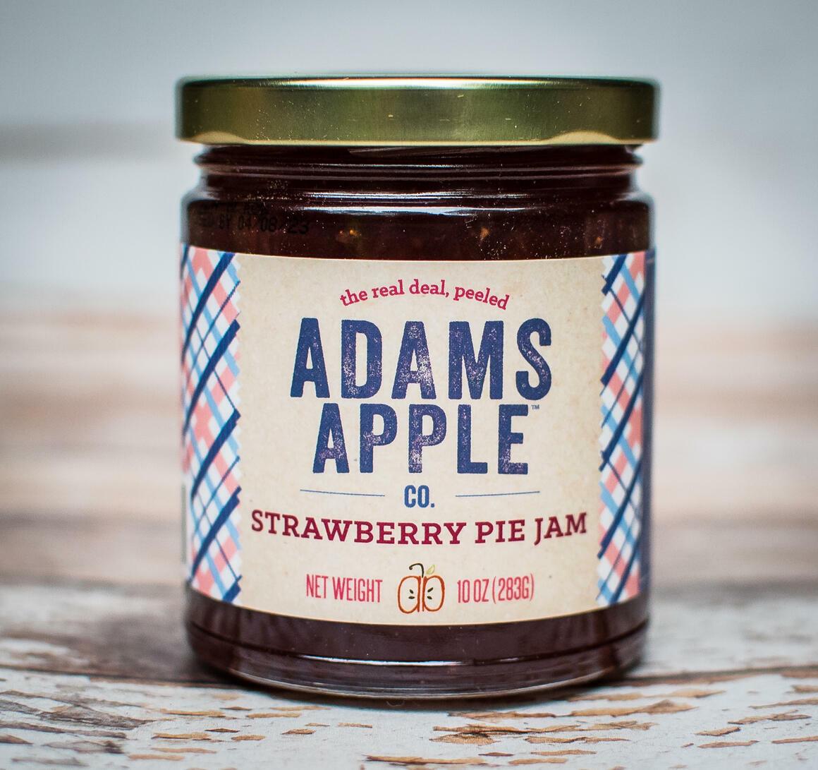 Adams Apple Strawberry Pie Jam | Trada Marketplace