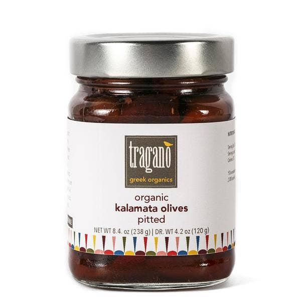 Tragano Greek Organics - Organic Pitted Kalamata Olives | Trada Marketplace