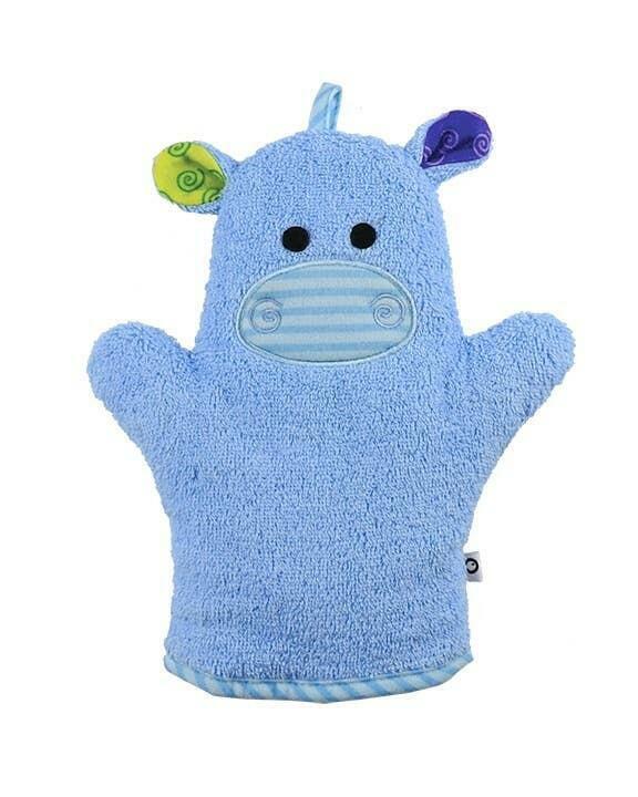 Henry the Hippo Bath Mitt | Trada Marketplace