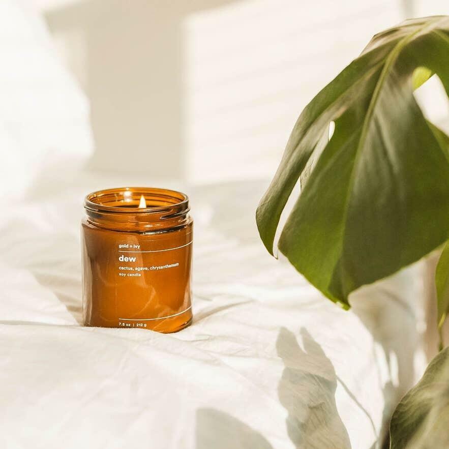 dew 7.5 oz. soy candle - standard | Trada Marketplace
