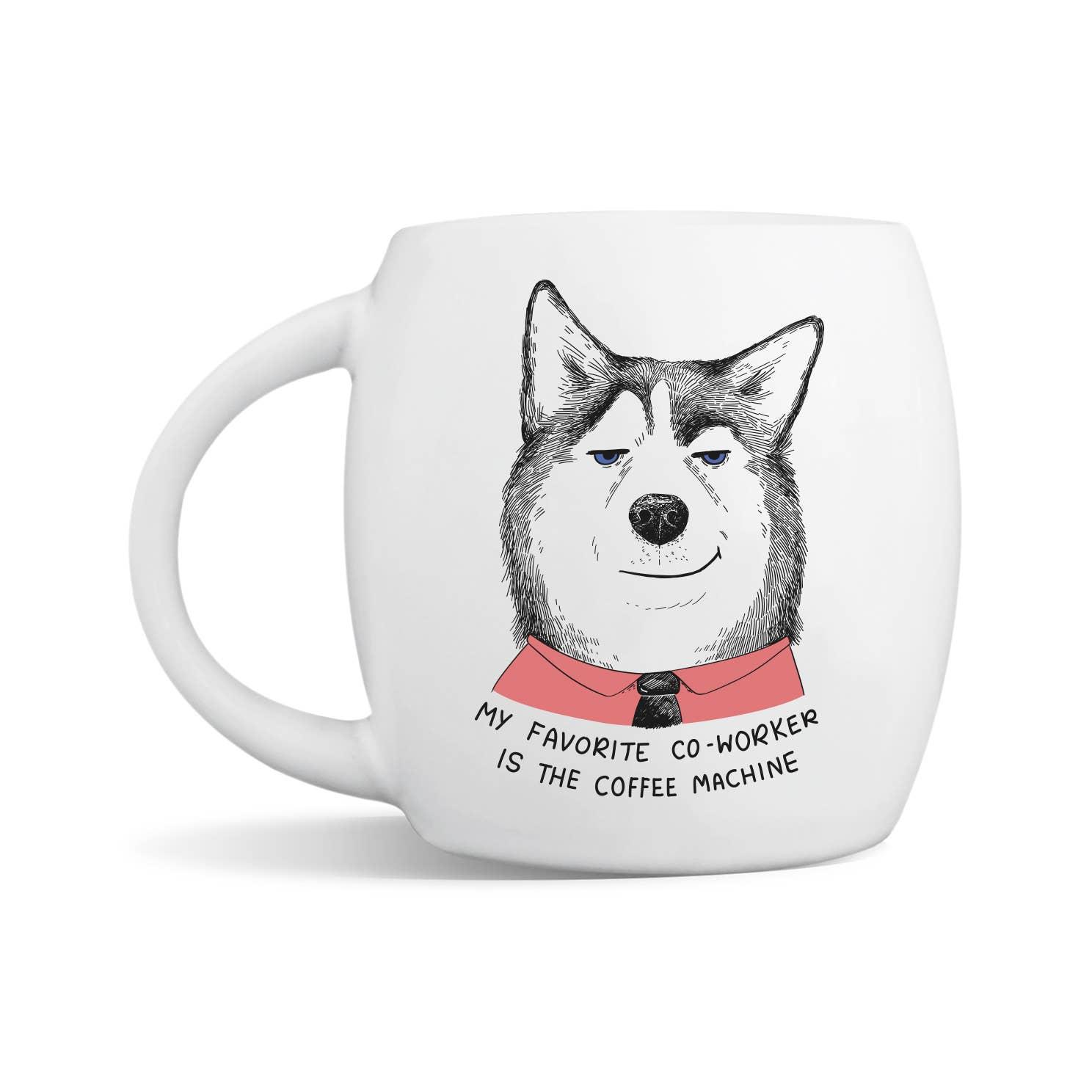 Smug Husky Mug | Trada Marketplace