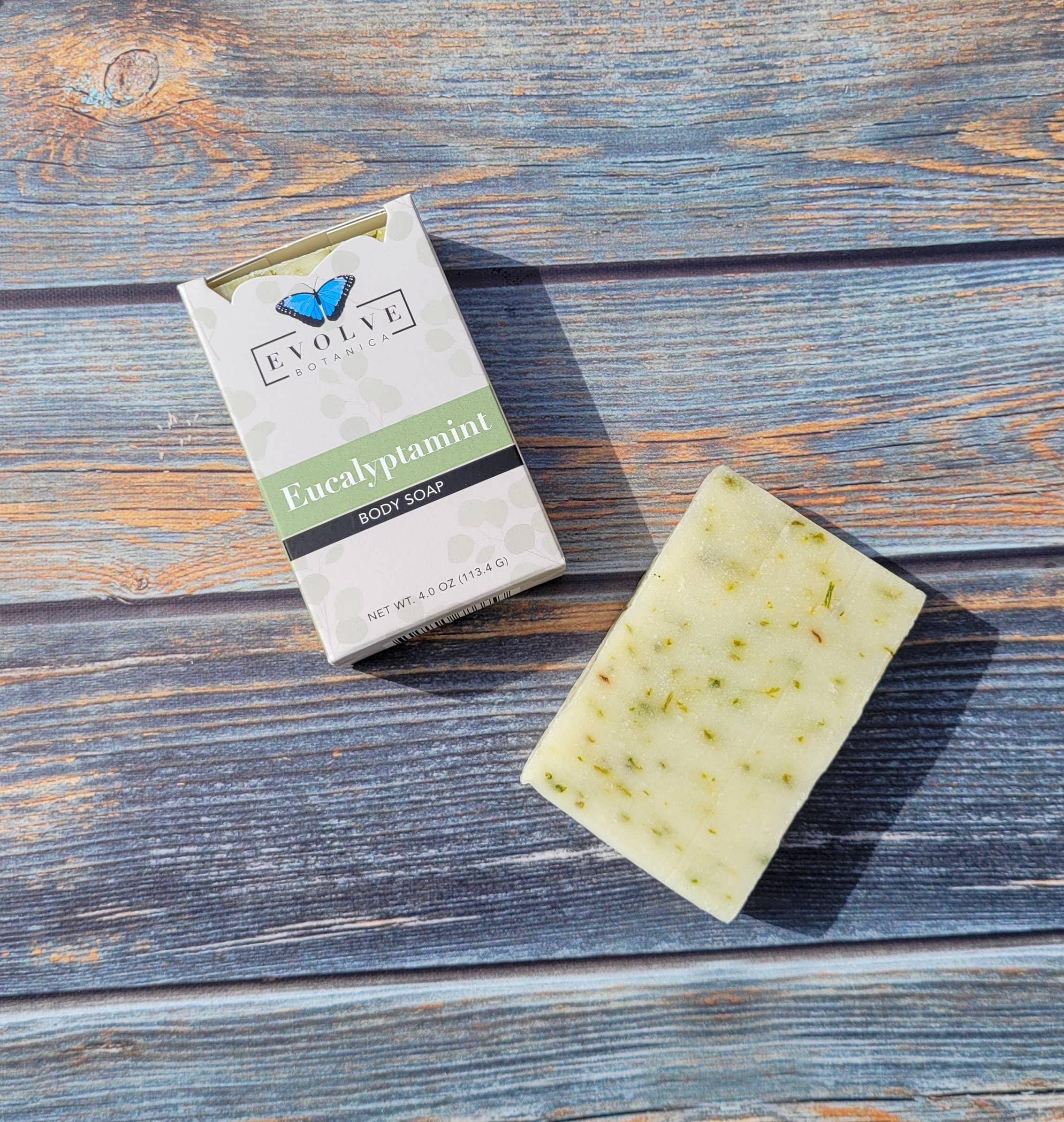 Evolve - Standard Soap - Eucalyptamint   Trada Marketplace
