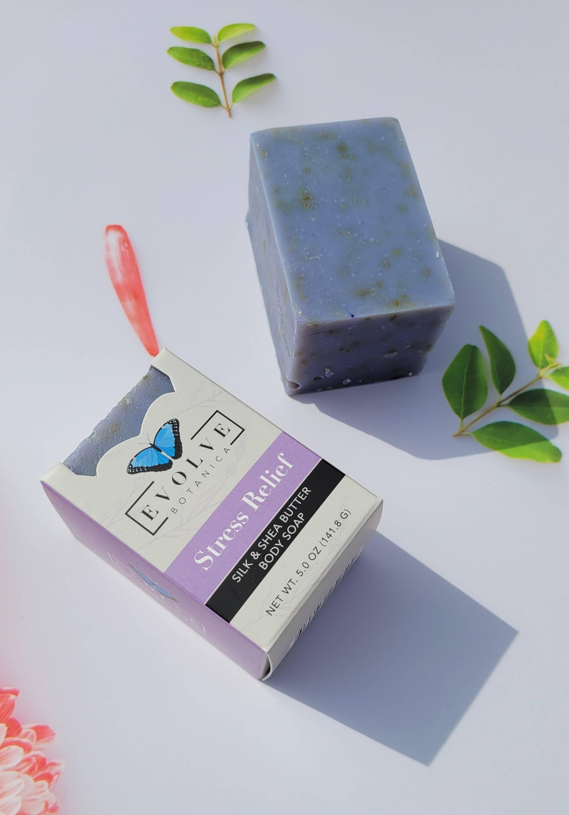Evolve - Specialty Soap - Stress Relief Silk | Trada Marketplace