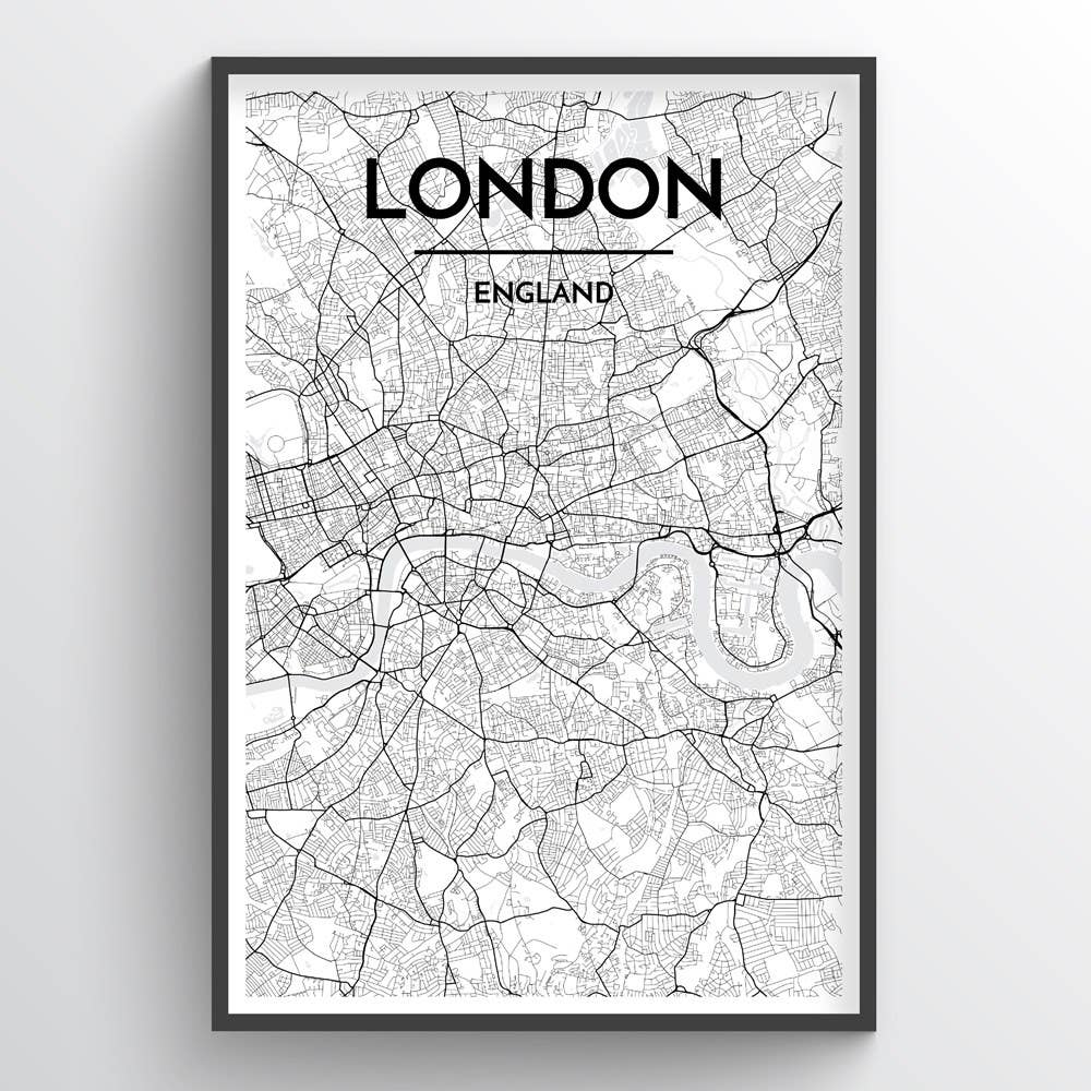 London City Map | Trada Marketplace