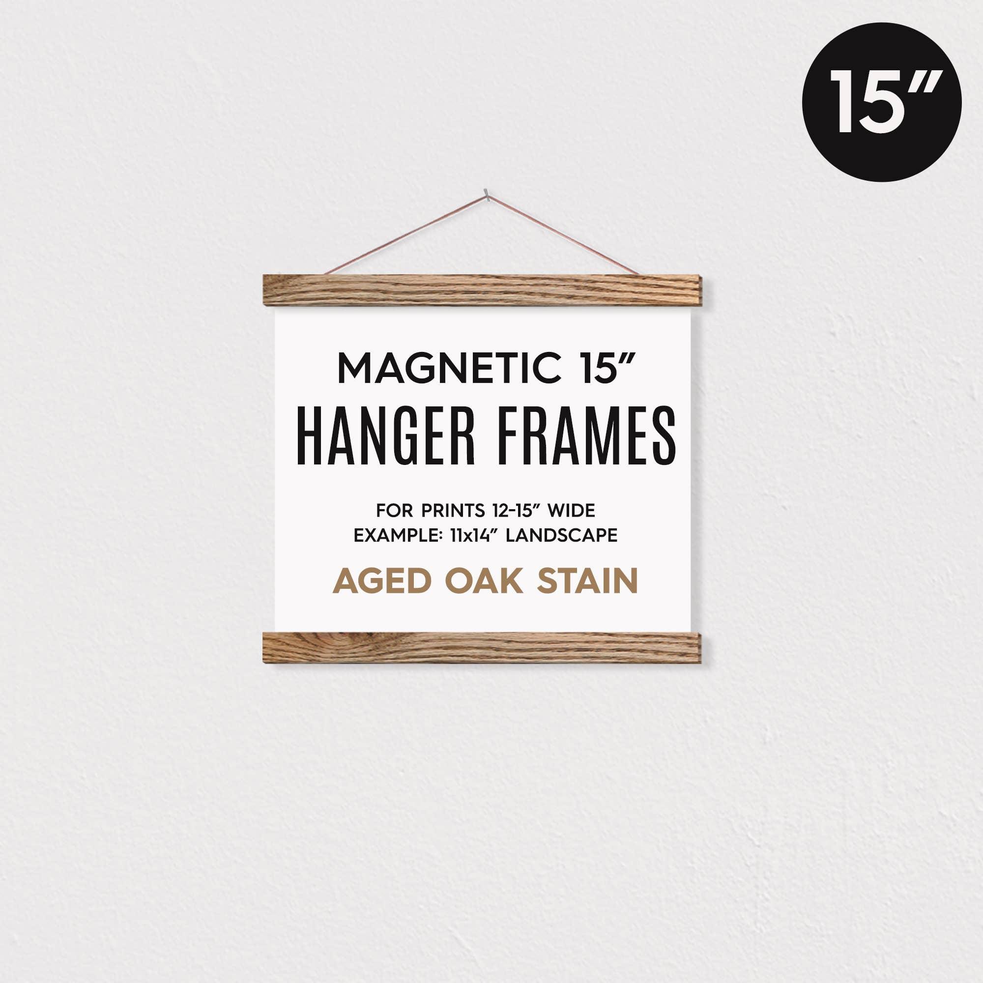 """15"""" MAGNETIC Poster Hanger Frame for 11x14"""" Landscape   Trada Marketplace"""