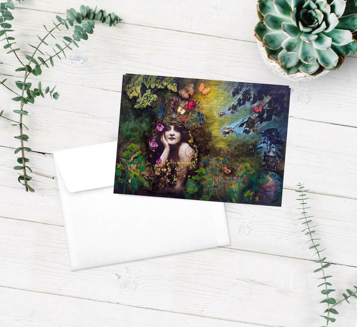 Nature Greeting Cards pkg of 5   Trada Marketplace