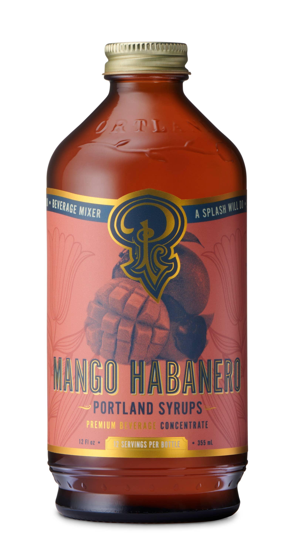 Mango Habanero Syrup (12oz) | Trada Marketplace