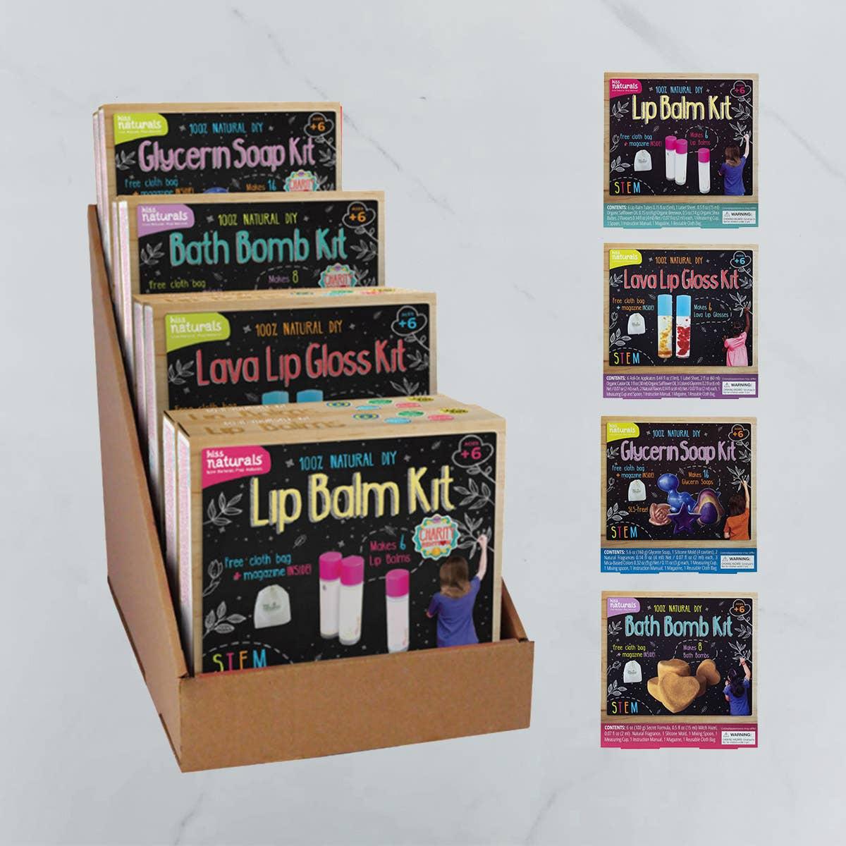 32 all-natural DIY Craft Kits with Cardboard Display   Trada Marketplace
