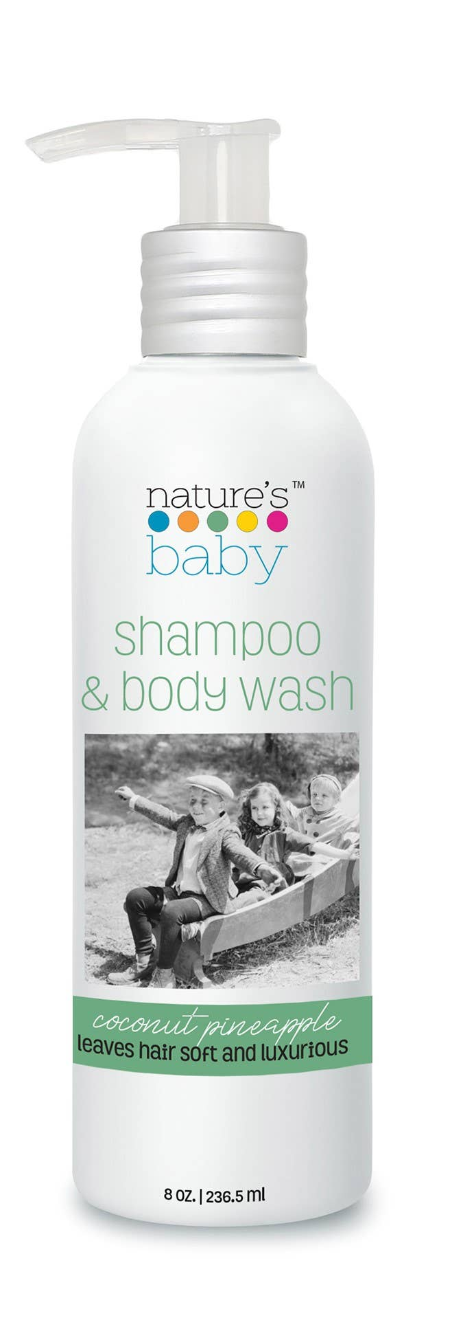 Shampoo & Body Wash - 8-oz Coconut Pineapple | Trada Marketplace
