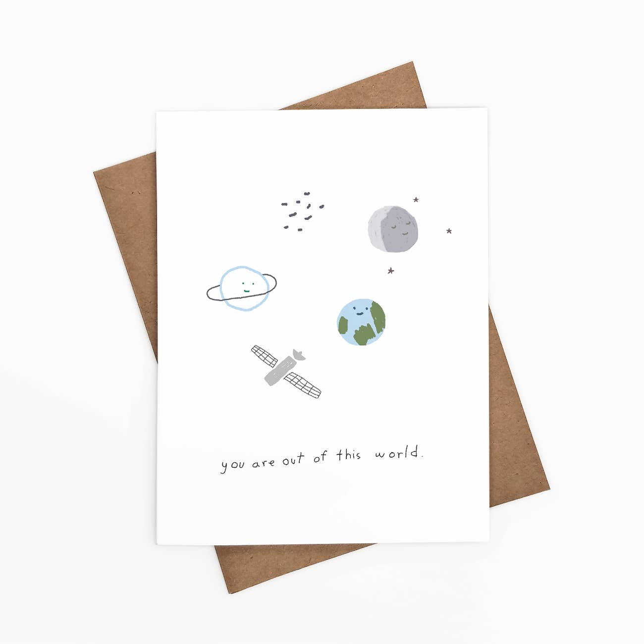 You Are Out Of This World Greeting Card   Trada Marketplace