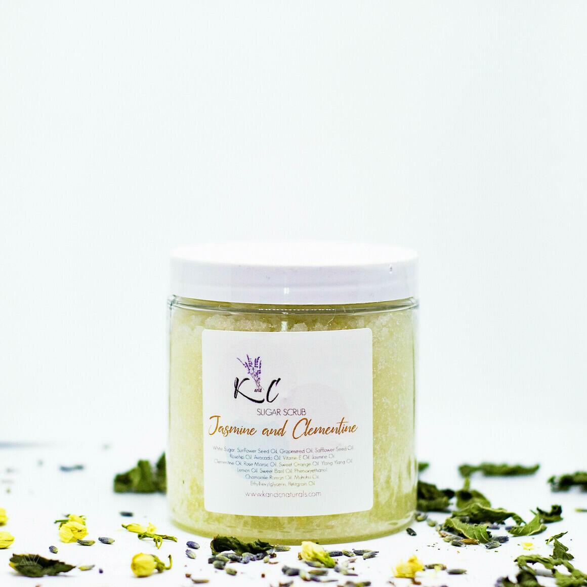 Jasmine & Clementine Sugar Scrub | Trada Marketplace