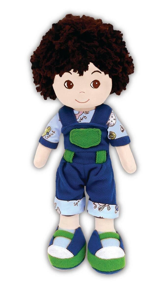 Cedric Animal Overalls boy doll | Trada Marketplace