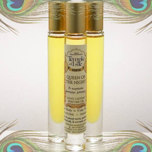 Exotic Perfume Oil - Queen of the Night   Trada Marketplace