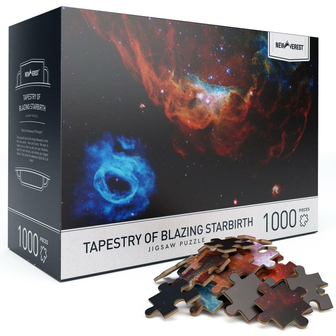 1000 pcs Tapestry of Blazing Starbirth Jigsaw Puzzle | Trada Marketplace