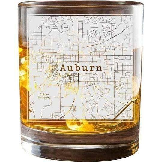 Auburn College Town Glasses (Set of 2)   Trada Marketplace