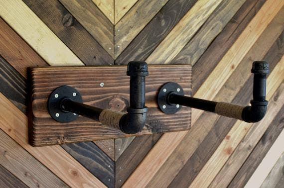 Burlap Pipe Bicycle Rack | Trada Marketplace