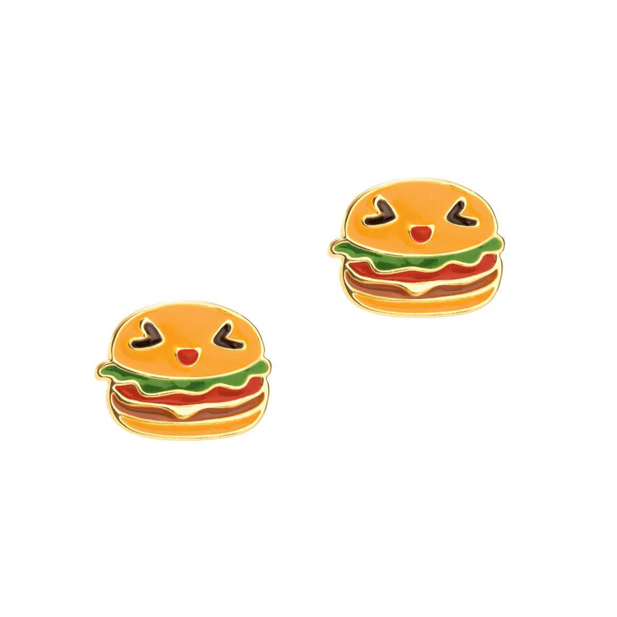 Happy Hamburger Cutie Stud | Trada Marketplace