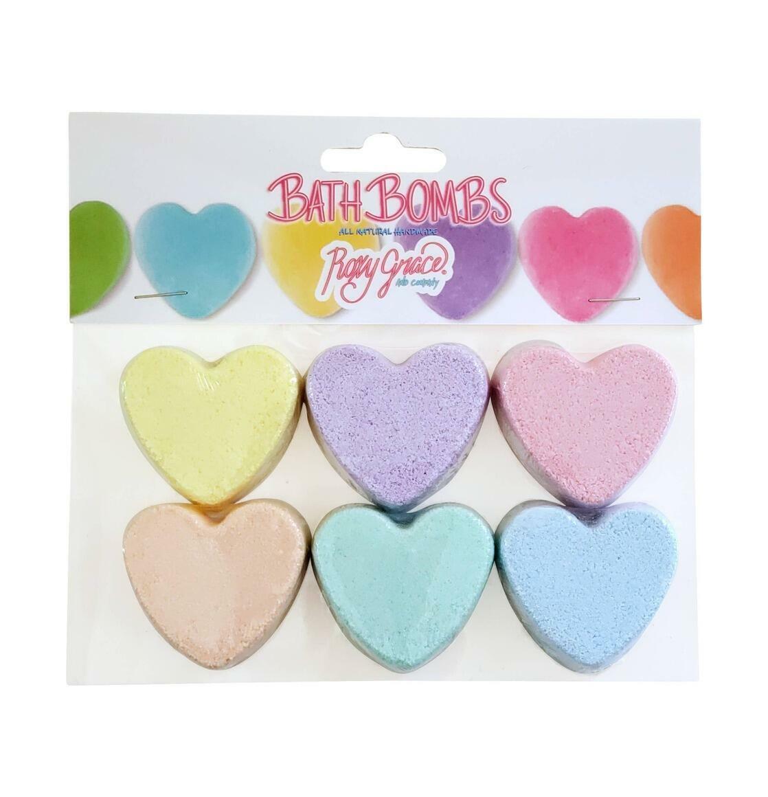 Mini Heart Bath Bomb - Pack of 6 | Trada Marketplace