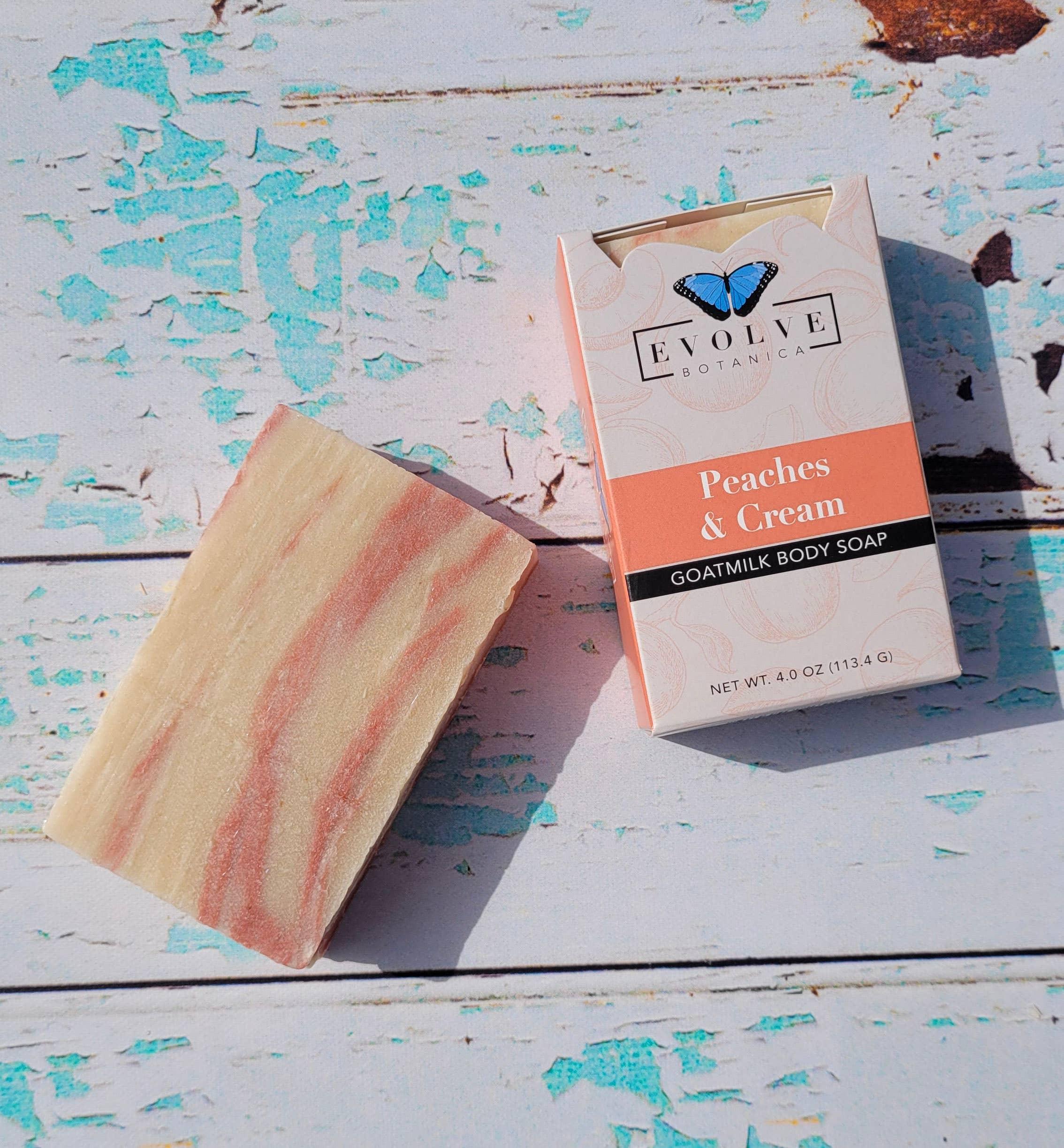 Evolve - Standard Soap - Peaches and Cream (Goatmilk) | Trada Marketplace