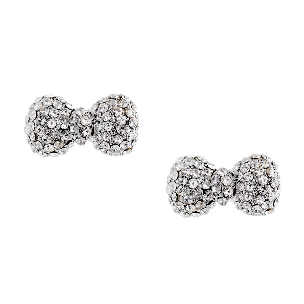 SALE! Dazzle Girl- Crystal Bow Earrings   Trada Marketplace