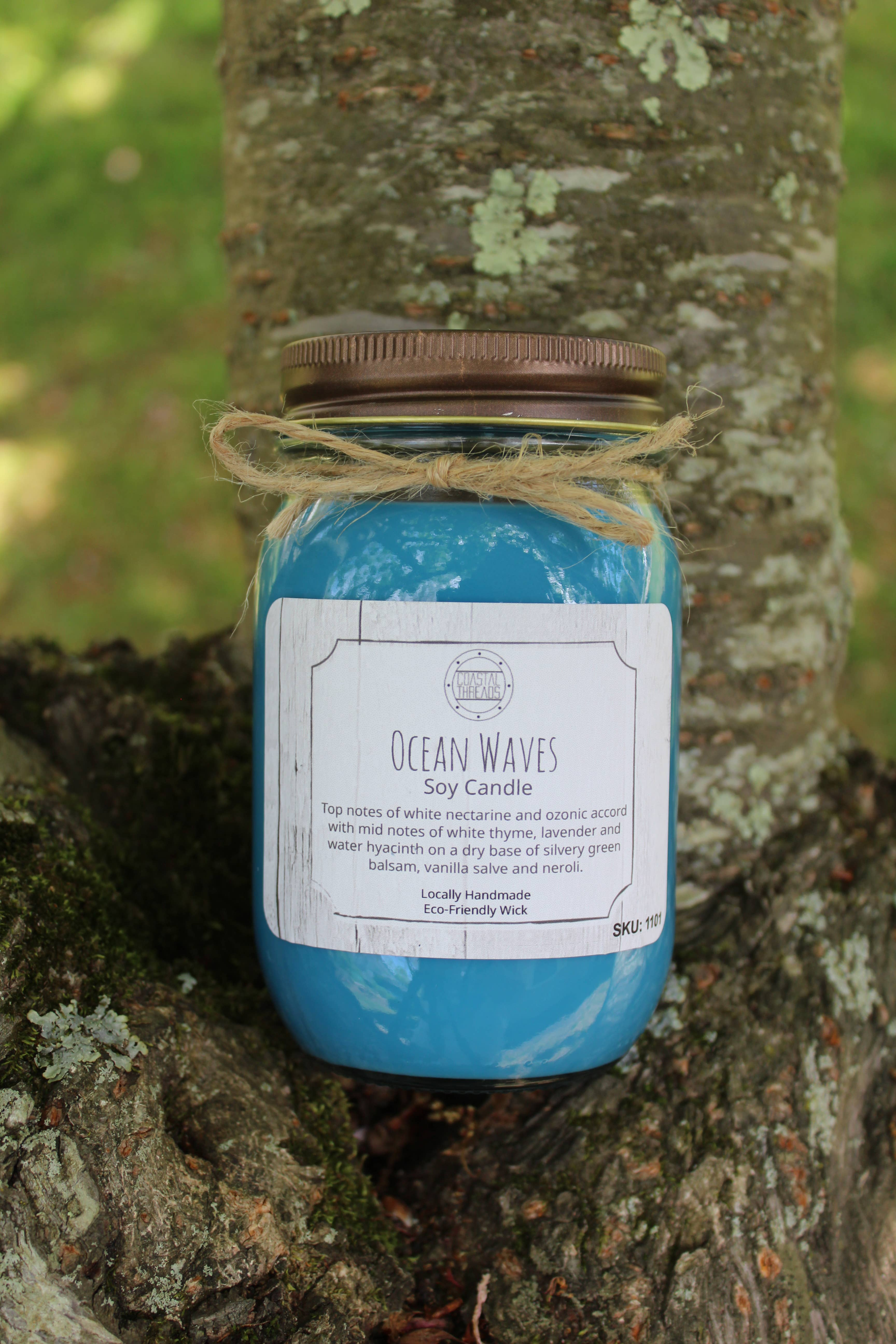 Ocean Waves Soy Candle | Trada Marketplace