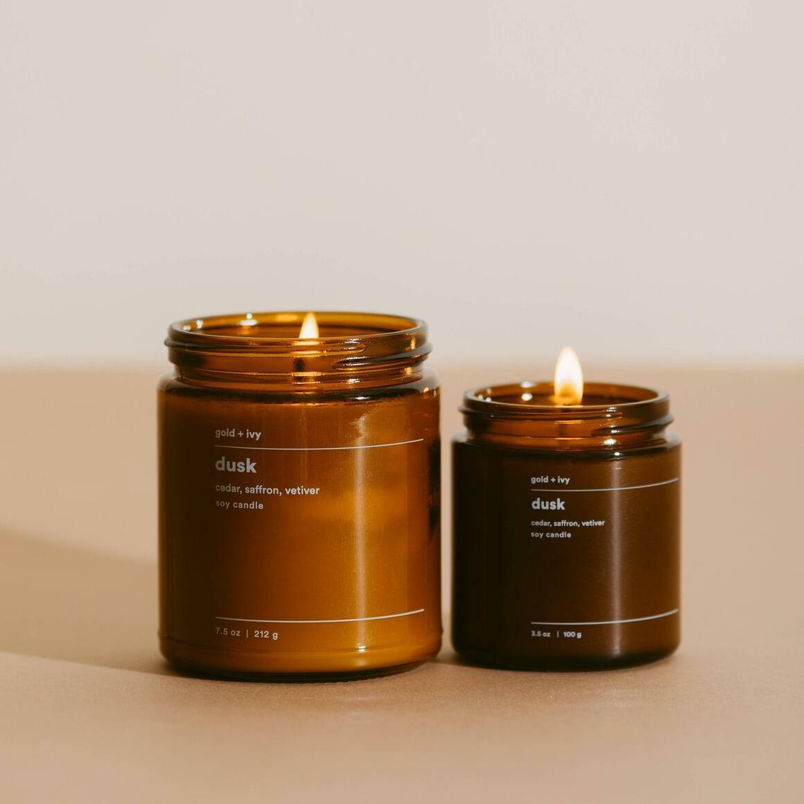 dusk 3.5 oz. soy candle - mini | Trada Marketplace