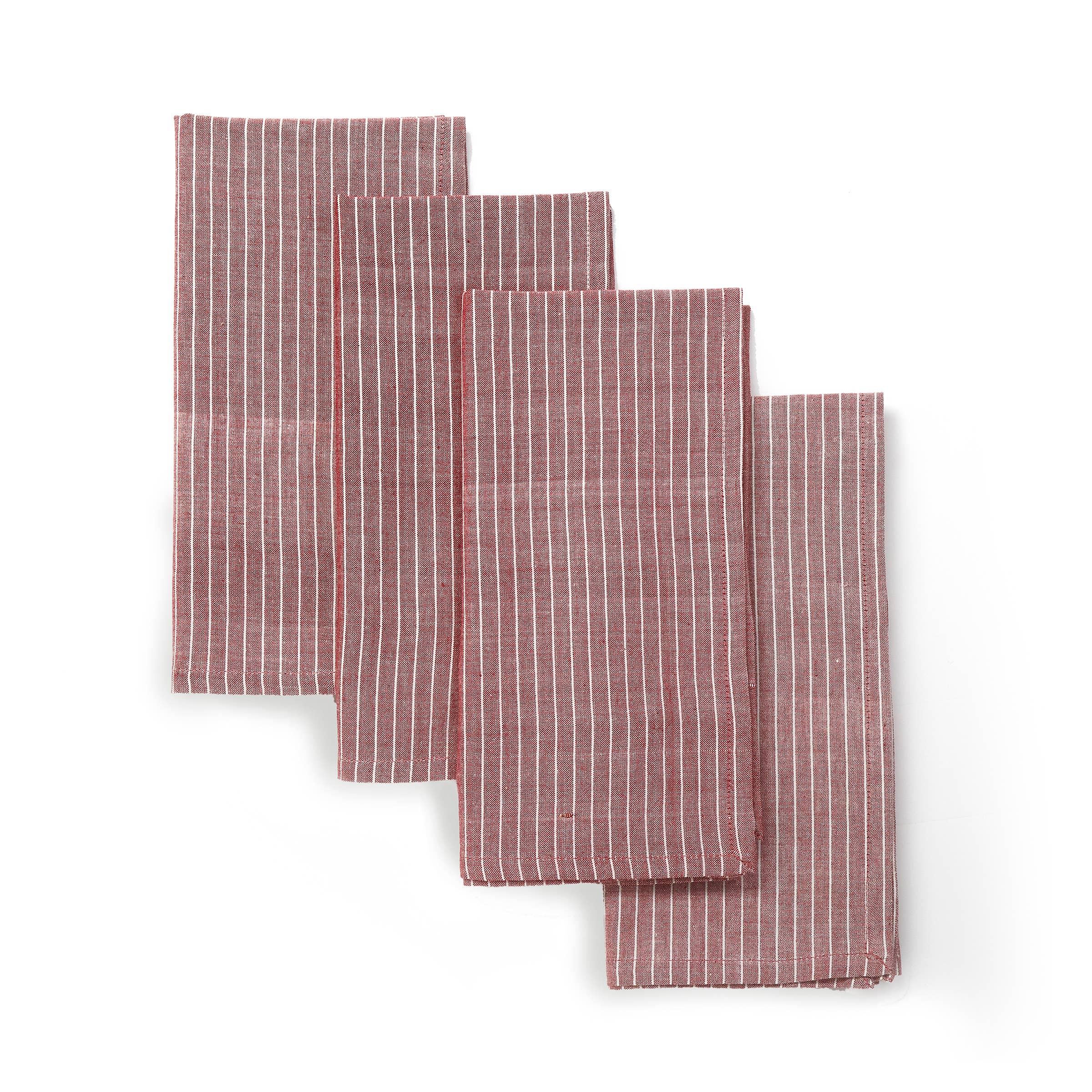 SWEET MAPLE Napkin (set of 4), Soft Handwoven Cotton | Trada Marketplace