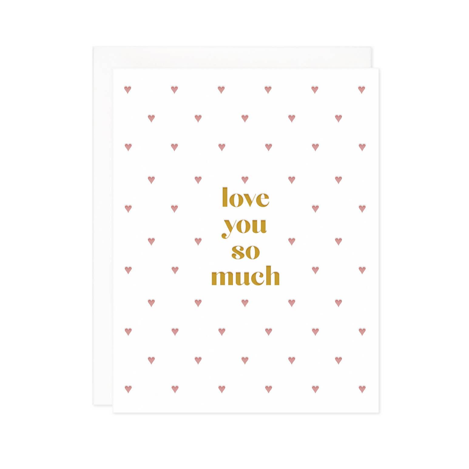 Love You So Much Card | Trada Marketplace