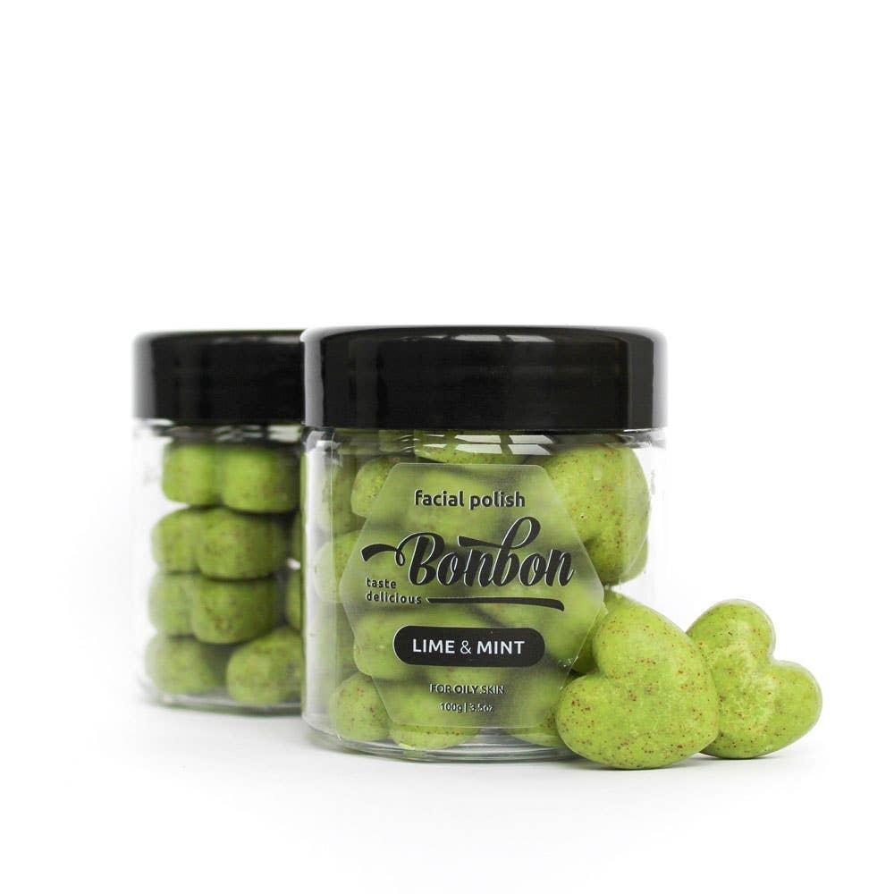 Lime & Mint Facial Polish for Oily Skin | Trada Marketplace
