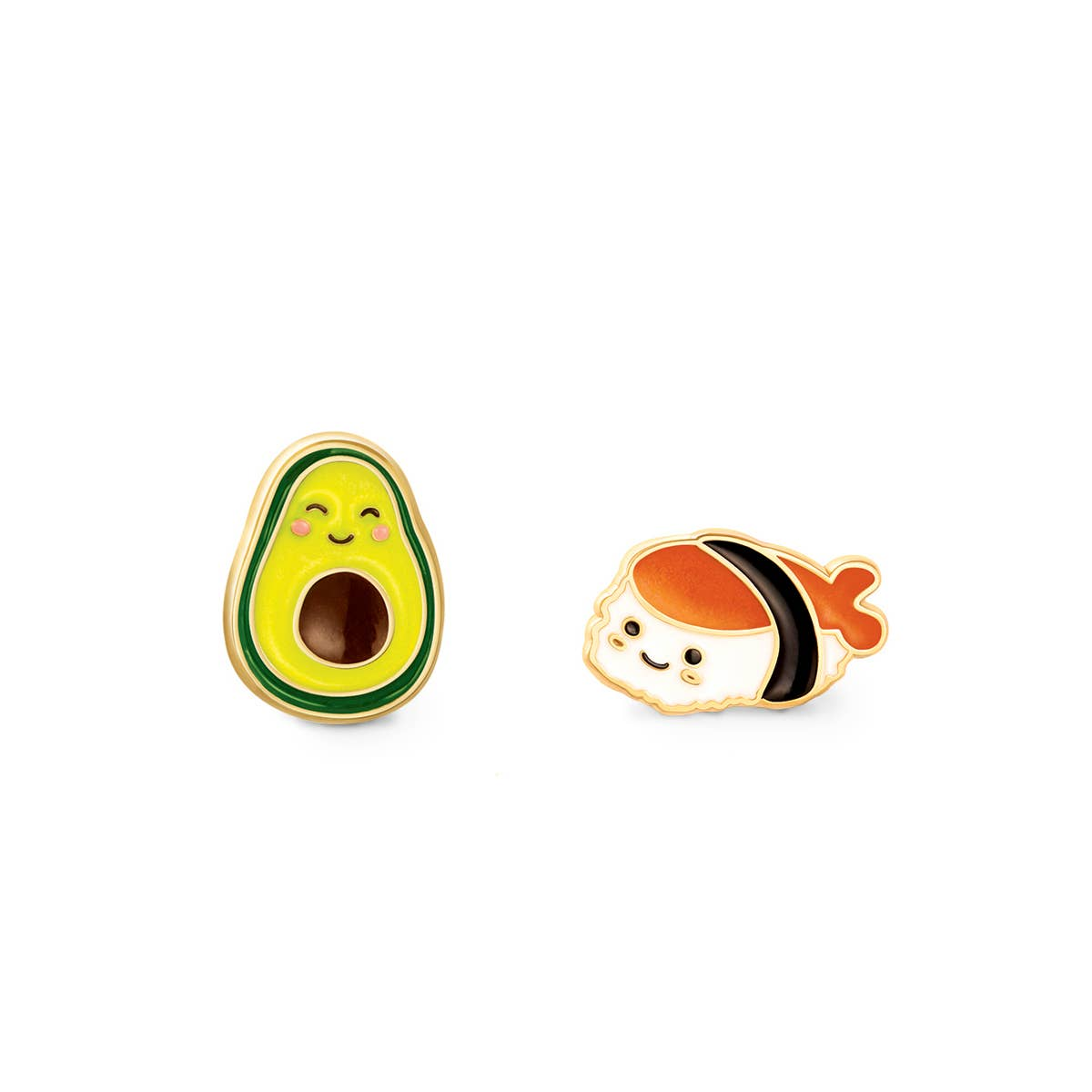 """""""The Perfect Pair""""- Guac and Roll Cutie Studs   Trada Marketplace"""