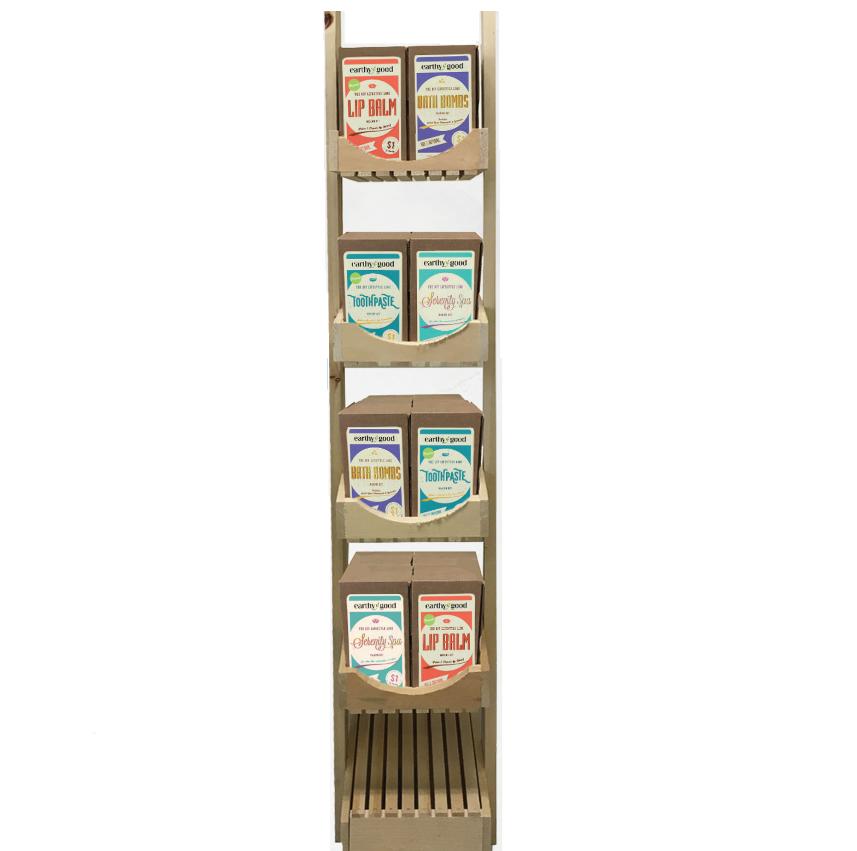 48 Earthy Good All-Natural DIY Kits/ Comes with wood display   Trada Marketplace