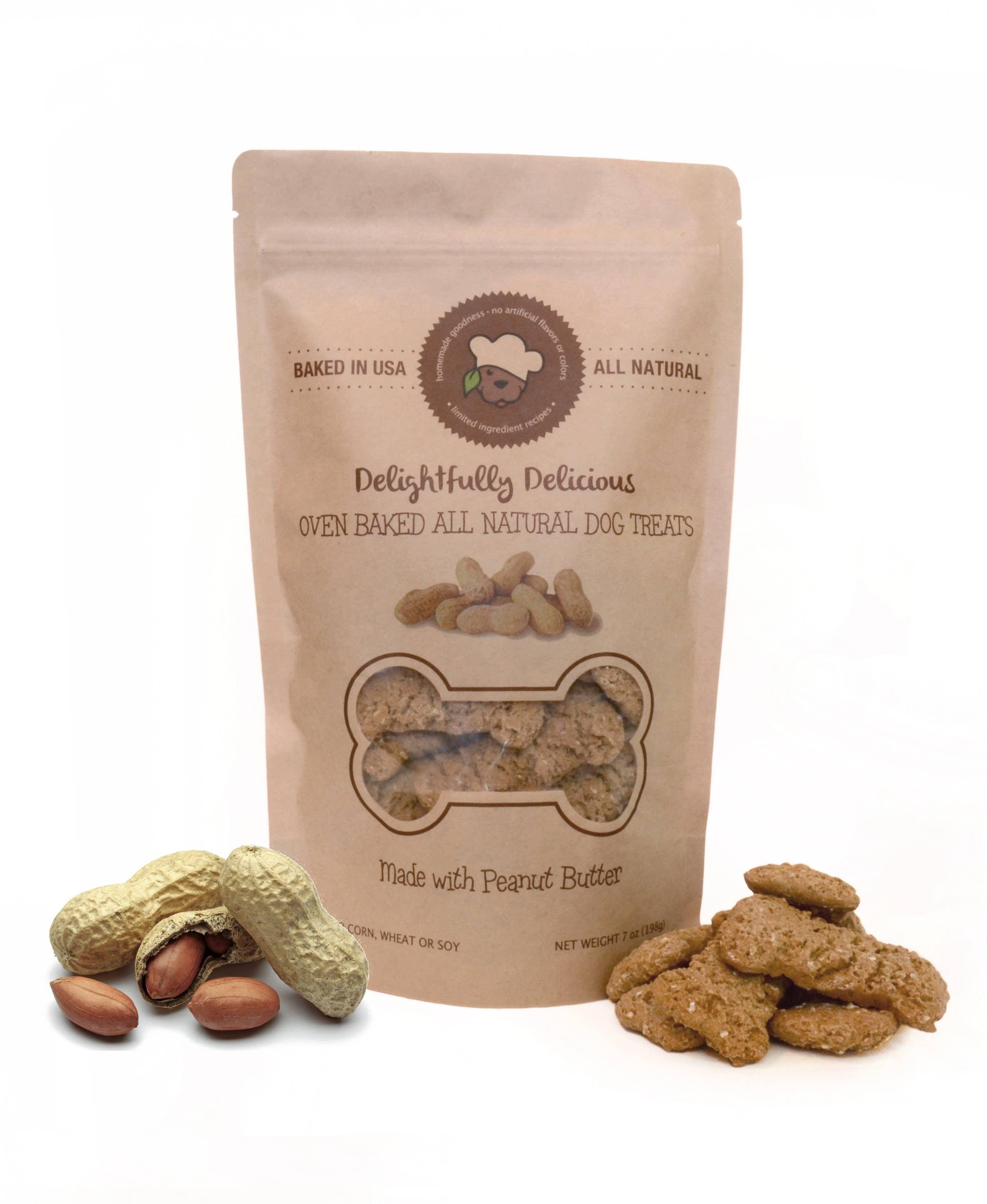 Peanut Butter All Natural Dog Treats | Trada Marketplace