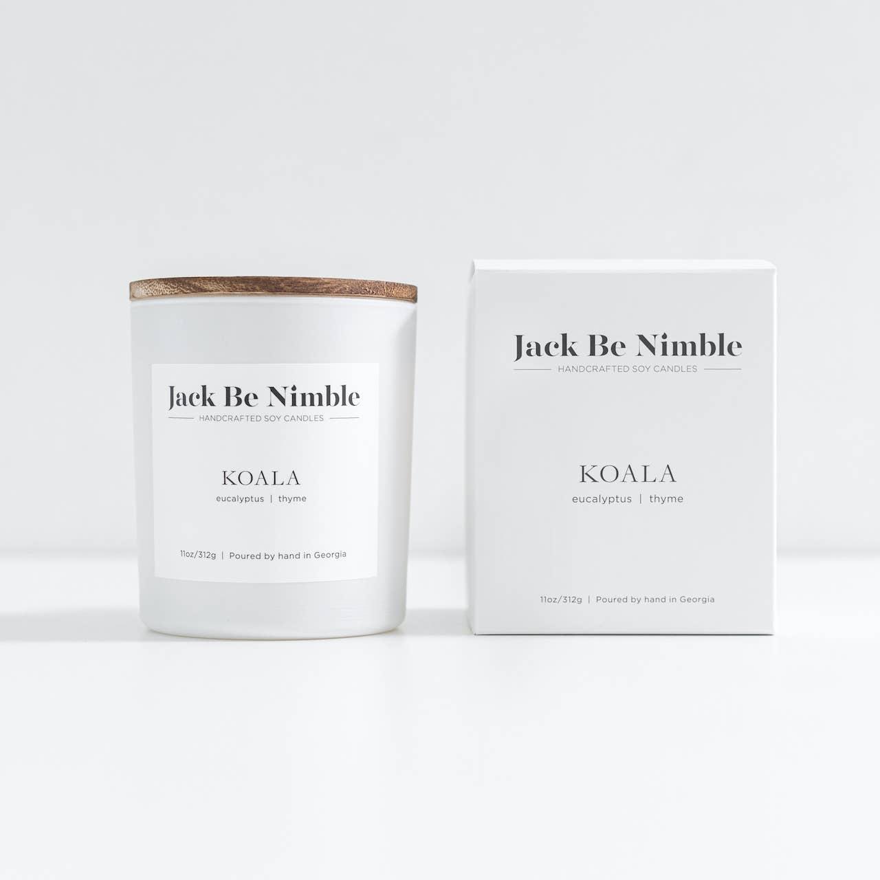 11oz Koala Soy Candle | Trada Marketplace