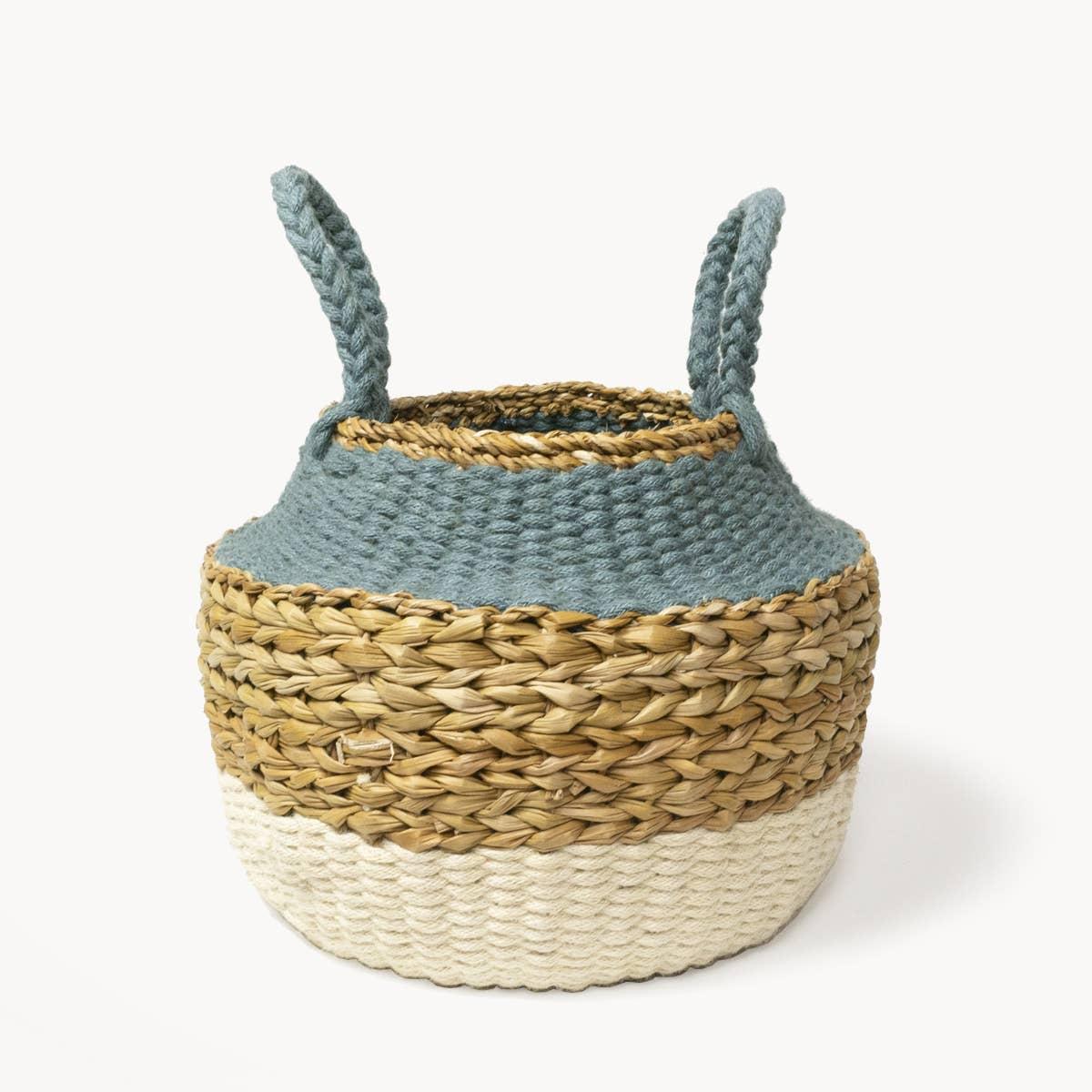 Ula Blue Foldable Basket | Trada Marketplace